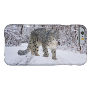 Snow Leopard Barely There iPhone 6 Case