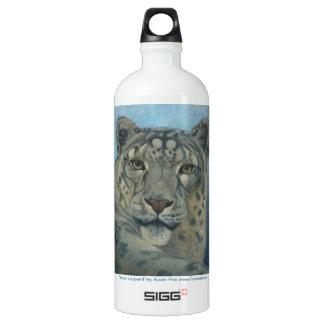 """Snow Leopard"" by Susan Fox SIGG Traveller 1.0L Water Bottle"