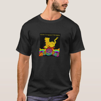 Snow Leopard Designs T Shirt
