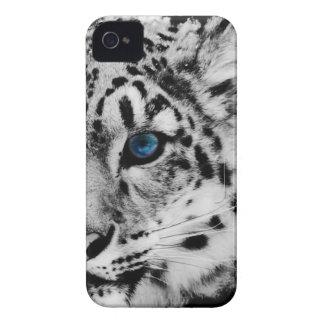 snow Leopard eye iphone case