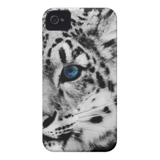 snow Leopard eye iphone case iPhone 4 Cases