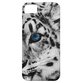 snow Leopard eye iphonecase iPhone 5 Cases