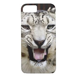 Snow Leopard Face iPhone 7 Case