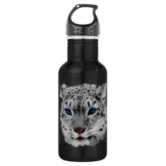Snow Leopard Fractal 532 Ml Water Bottle