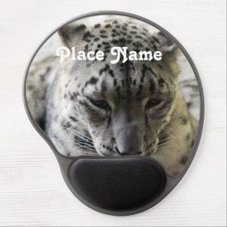 Snow Leopard Gel Mouse Pad
