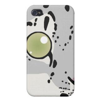 Snow Leopard iPhone Case iPhone 4 Cases