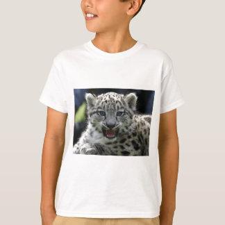 Snow Leopard Kitten T-Shirt