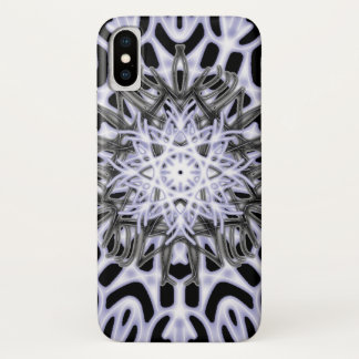 Snow Leopard lace ~ iPhone X Case