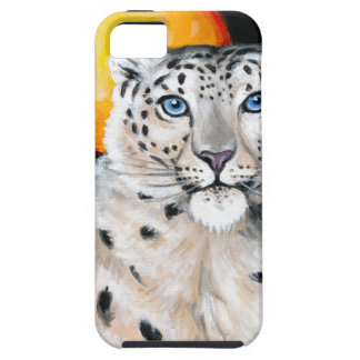 Snow Leopard Moon Case For The iPhone 5