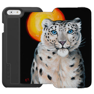 Snow Leopard Moon Incipio Watson™ iPhone 6 Wallet Case