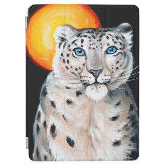 Snow Leopard Moon iPad Air Cover