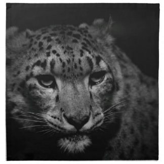 snow-leopard napkin