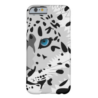 Snow Leopard Pattern Barely There iPhone 6 Case