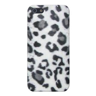Snow Leopard Print iPhone 5 Cases