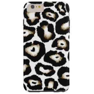 Snow Leopard Print iPhone 6 Plus Case