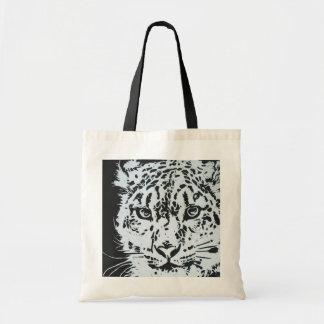 Snow Leopard Reusable Bag
