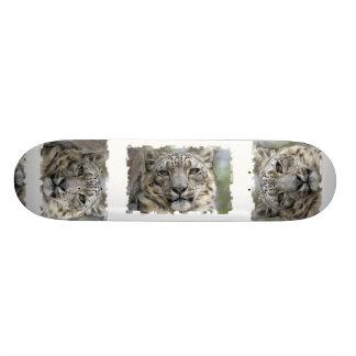 Snow Leopard Skateboard