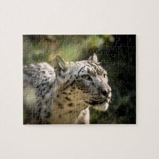 Snow Leopard - Small Jigsaw Puzzle