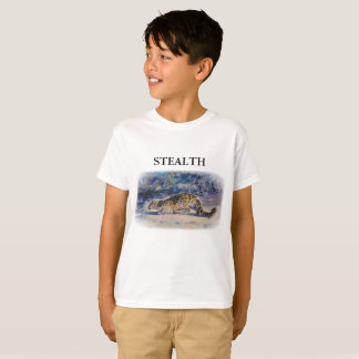 Snow Leopard STEALTH T-Shirt