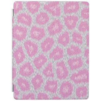 Snow Leopard style - Silver Pink iPad Smart Cover