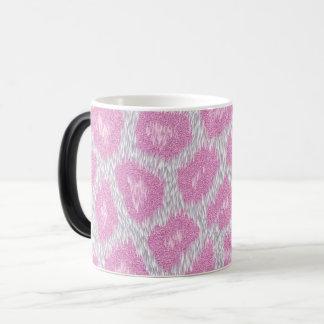 Snow Leopard style - Silver Pink Magic Mug