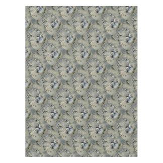snow leopard tablecloth