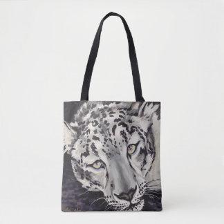 Snow Leopard Tote