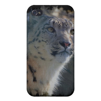 Snow Leopard Wild Cat Animal Lover iPhone 4 Case