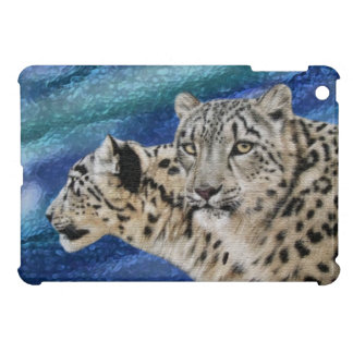 Snow Leopards Cover For The iPad Mini