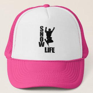 SNOW LIFE #3 (blk) Trucker Hat