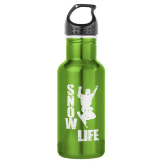 SNOW LIFE #3 (wht) 532 Ml Water Bottle