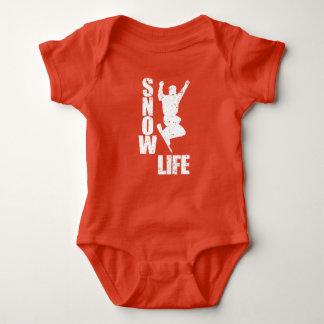 SNOW LIFE #3 (wht) Baby Bodysuit
