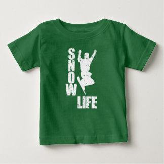 SNOW LIFE #3 (wht) Baby T-Shirt