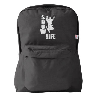 SNOW LIFE #3 (wht) Backpack