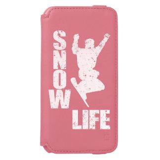 SNOW LIFE #3 (wht) Incipio Watson™ iPhone 6 Wallet Case