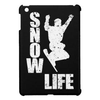 SNOW LIFE #3 (wht) iPad Mini Cases