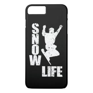 SNOW LIFE #3 (wht) iPhone 8 Plus/7 Plus Case