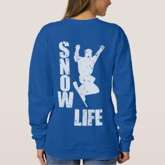 SNOW LIFE #3 (wht) Sweatshirt