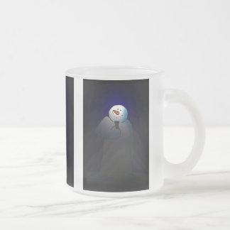 Snow Lights Frosted Glass Mug