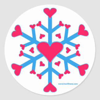 Snow Love Stickers
