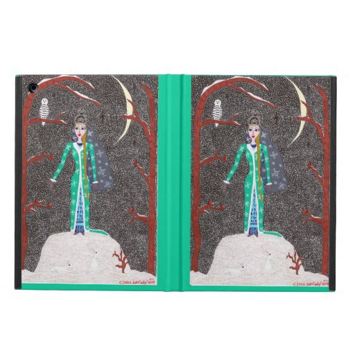 Snow Maiden Cover For iPad Air