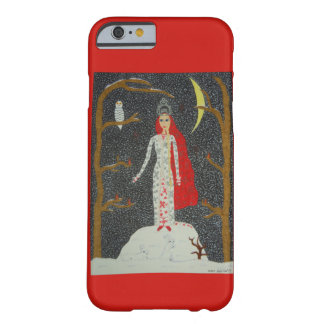 Snow Maiden (Red Version) Barely There iPhone 6 Case