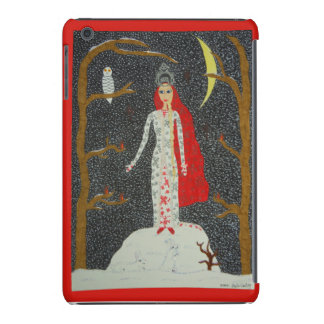 Snow Maiden (Red Version) iPad Mini Retina Case