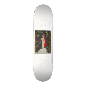 Snow Maiden (Red Version) Skate Board Deck