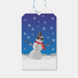 Snow Man Snow Winter Christmas Gift Tags