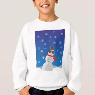 Snow Man Snow Winter Christmas Sweatshirt