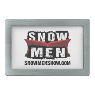Snow Men Belt Buckles