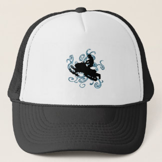 Snow mobile Mania Trucker Hat