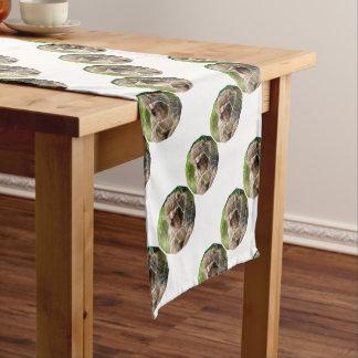 Snow Monkey Short Table Runner