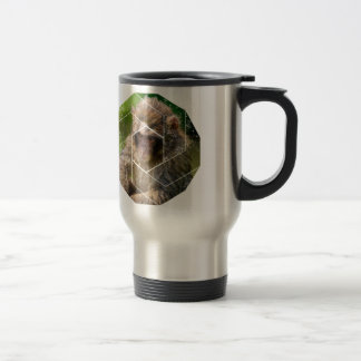 Snow Monkey Travel Mug